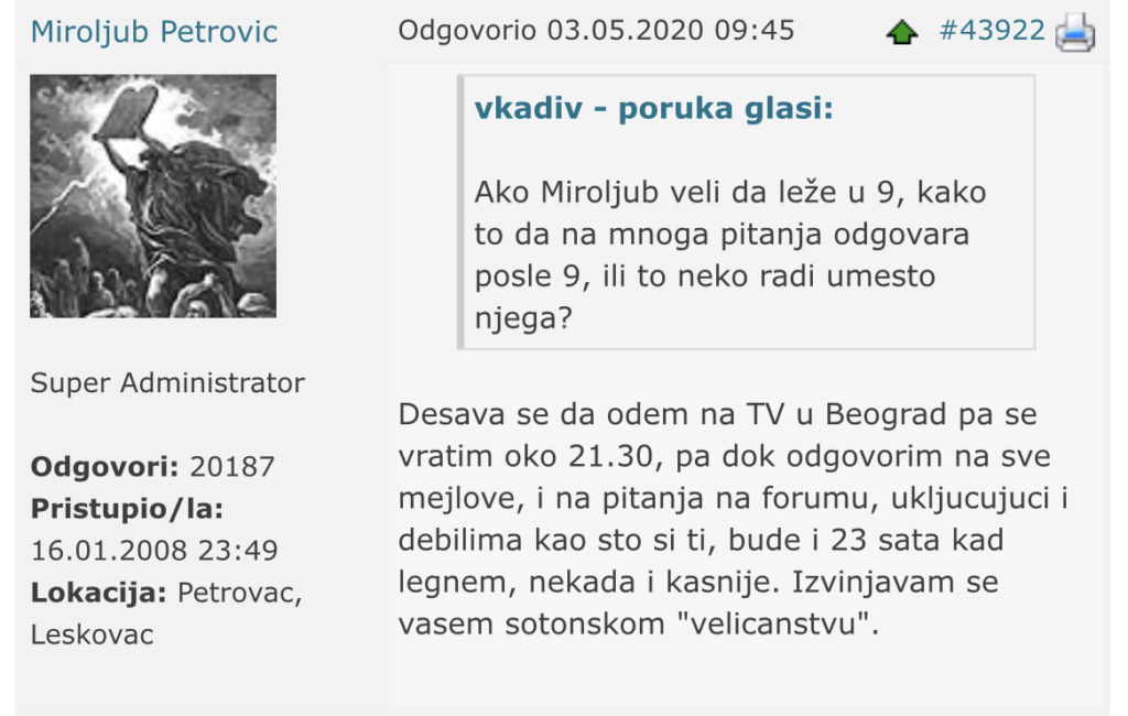 MAČ I CARSTVO MIROLJUBA PETROVIĆA? - Page 6 371d6f10
