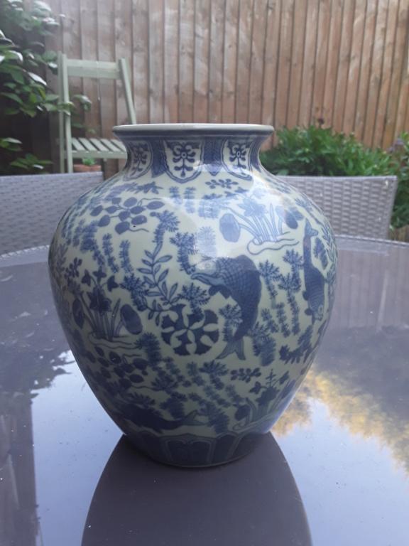 Boot sale find, oriental vase 20200415