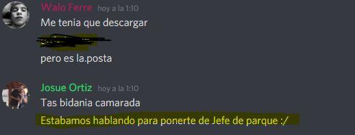[Reporte] Josue Ortiz [Remover como Director de SAME], [NRE,MG] Mg10