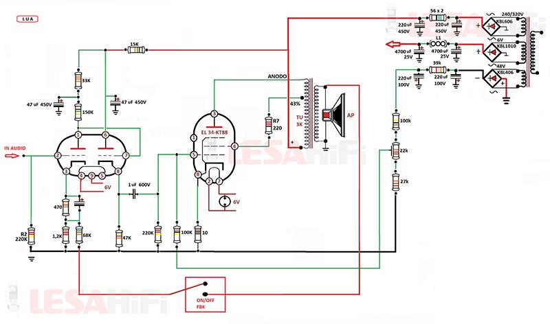 Trasformatore di uscita per el34 Schema11