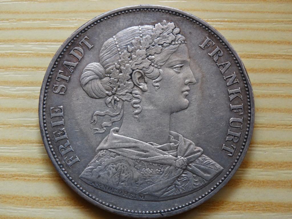 2 thaler frankfurt 1862 111