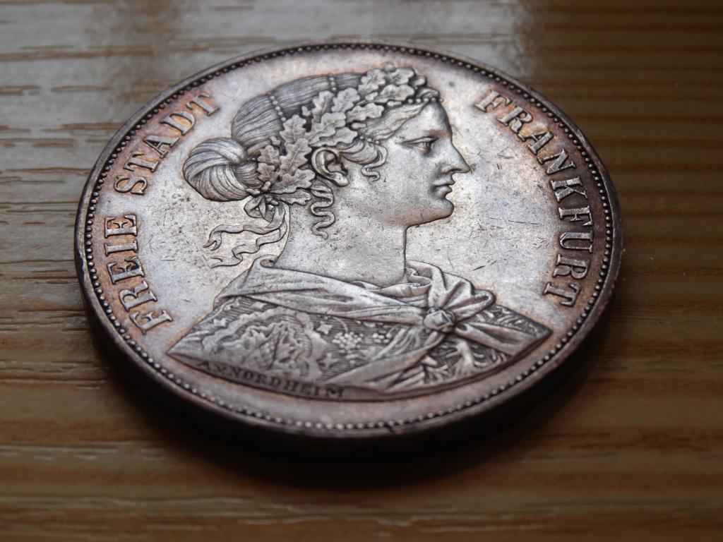2 thaler frankfurt 1862 311