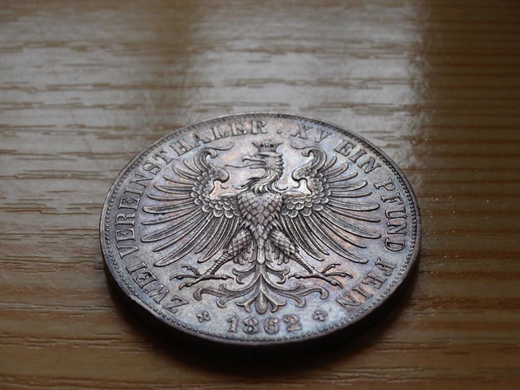 2 thaler frankfurt 1862 411