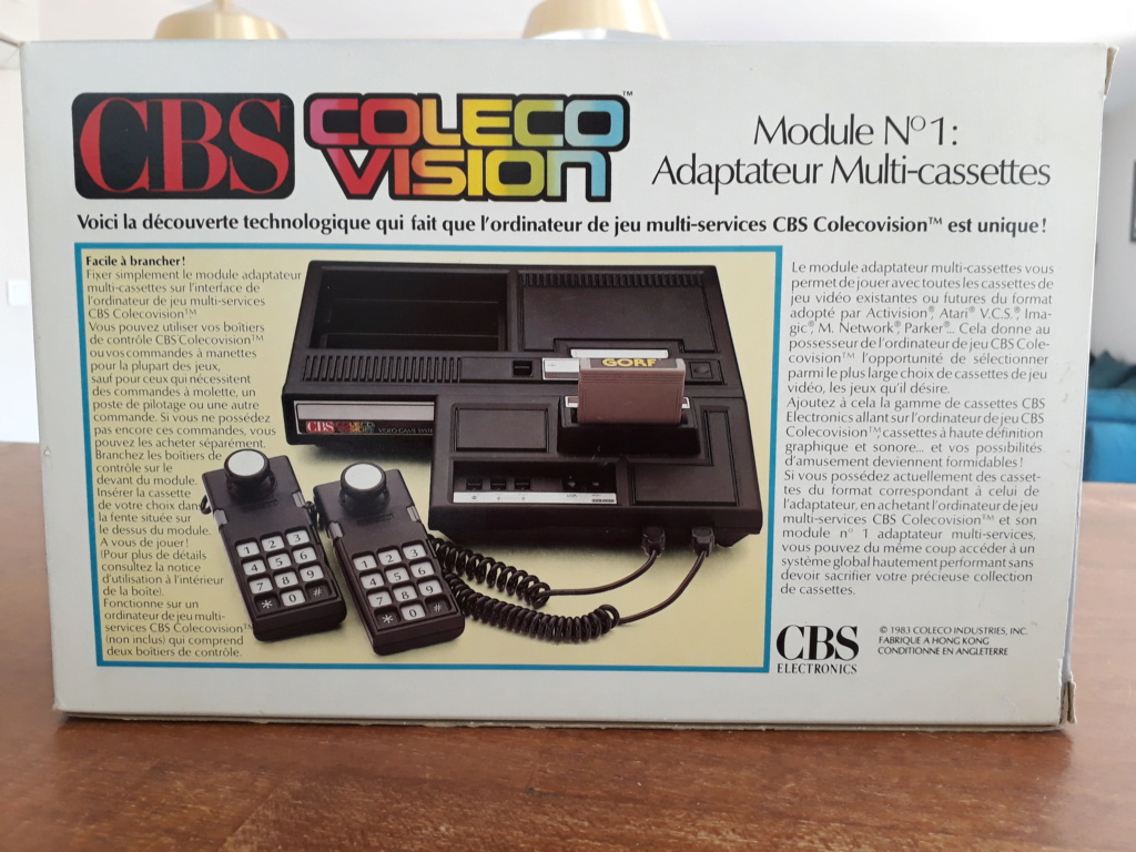 Adaptateur n°1 Colecovision 20200711