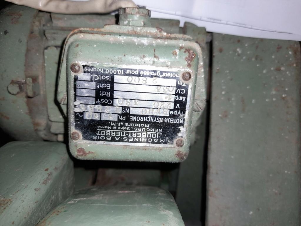 Variateur de fréquence-scie à ruban JOUBERT TIERSOT Plaque12