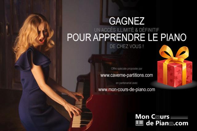 CONCOURS : Tentez de gagner un accès illimité à Mon Cours de Piano Bannie12