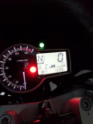 voyant FI moto qui démarre pas  Vc10