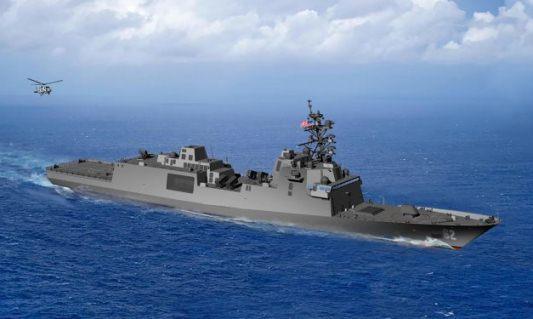 منح البحرية الأمريكية عقد فرقاطة الصواريخ الموجهة FFG Guided10