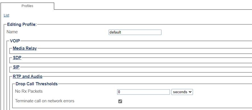 Request For enabling Media Inactivity Timer || Telco Bridges 1_11