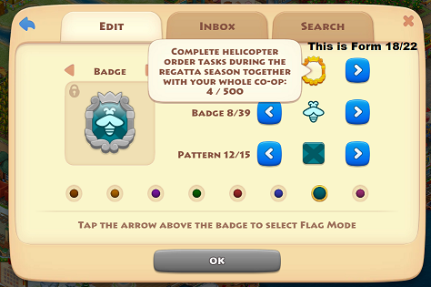 Description on the co-op badges of how to achieve them Coop_b10