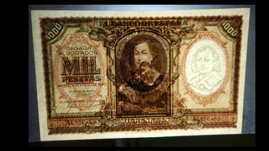1000 pesetas 1940 Murillo 1000_d10