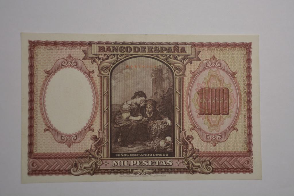 1000 pesetas 1940 Murillo 1000_d12