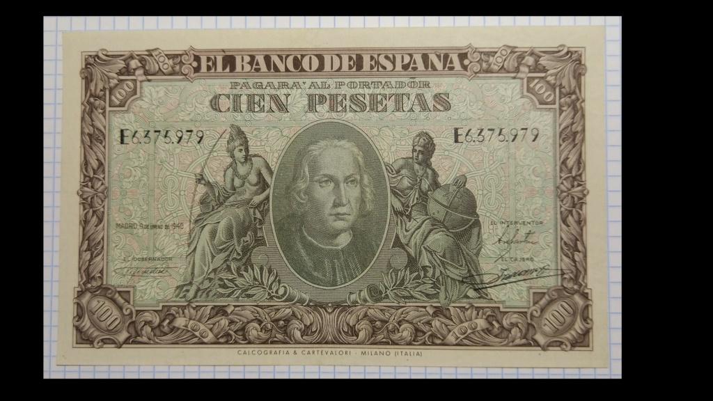 100 pesetas de 1940 100_de15