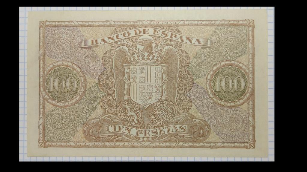 100 pesetas de 1940 100_de16