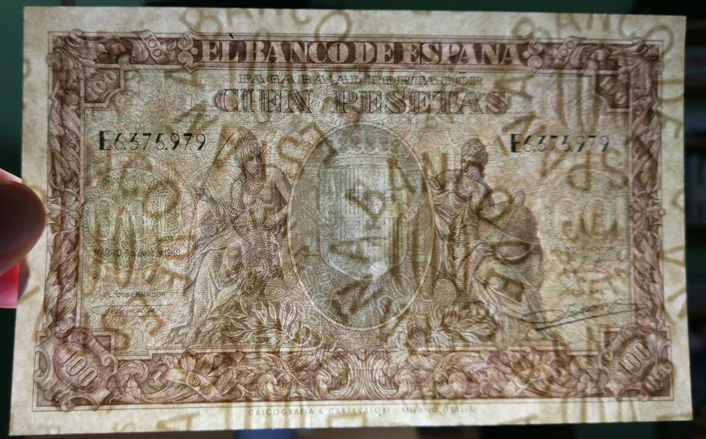 100 pesetas de 1940 100_de17