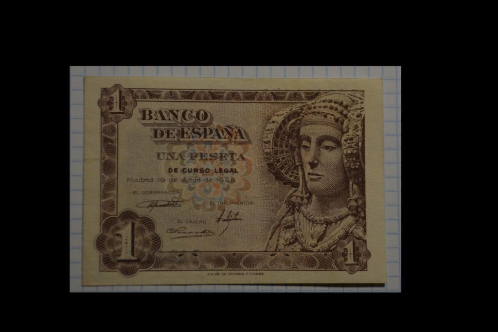 1 peseta del 19 de junio de 1948 - Dama de Elche 1_de_124