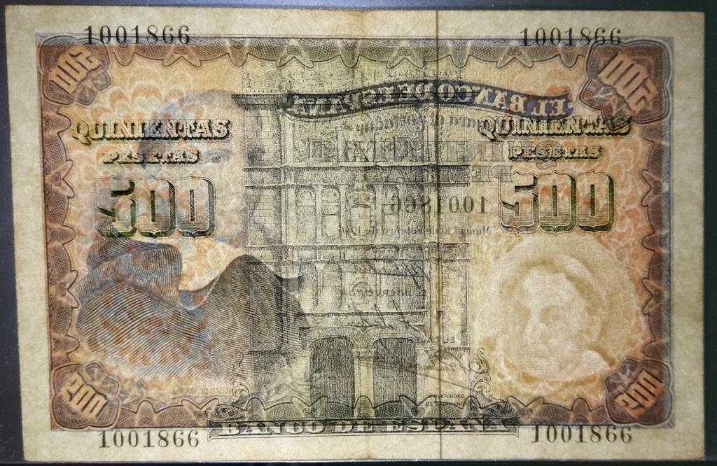 500 pesetas de 1946 (Padre Vitoria) 500_de13