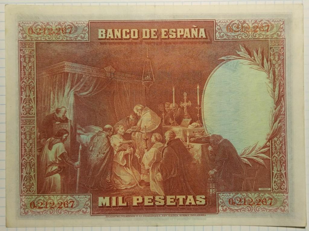 1000 pesetas de agosto de 1928 (Fernando III el Santo) M_100014