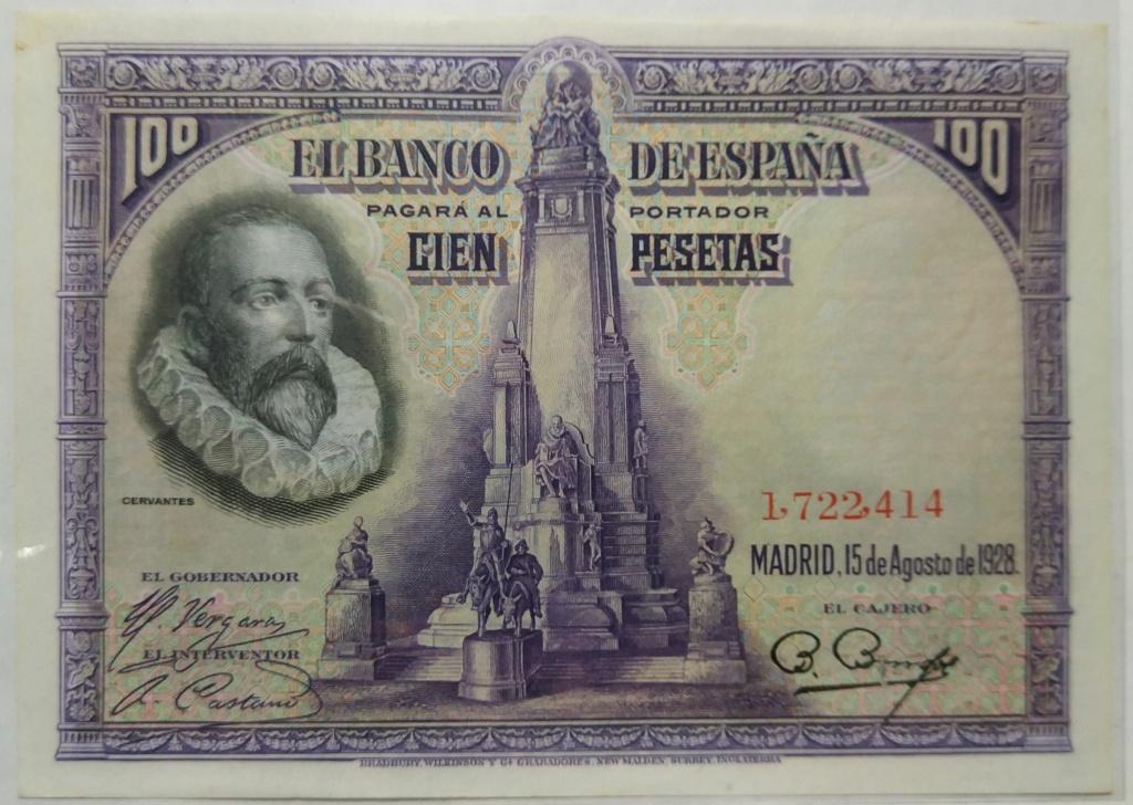 Cervantes - 100 pesetas del 15-08-1928 (Cervantes) M_100_13