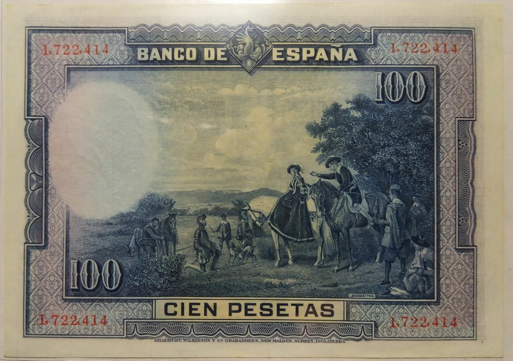 Cervantes - 100 pesetas del 15-08-1928 (Cervantes) M_100_14