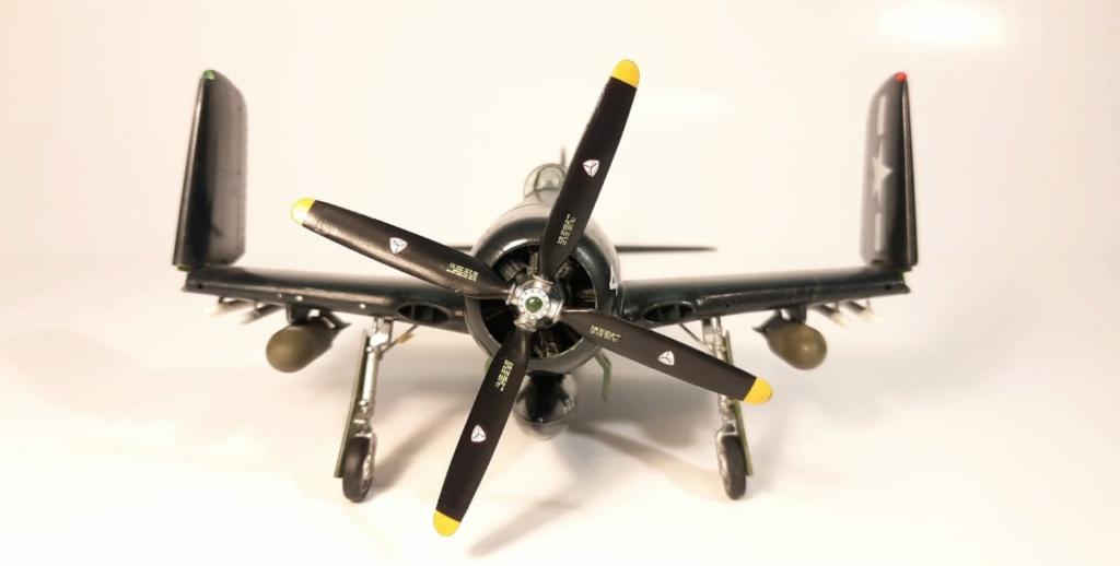 MT: F8F 1 Bearcat  Hobby Boss 1/48 2021-013