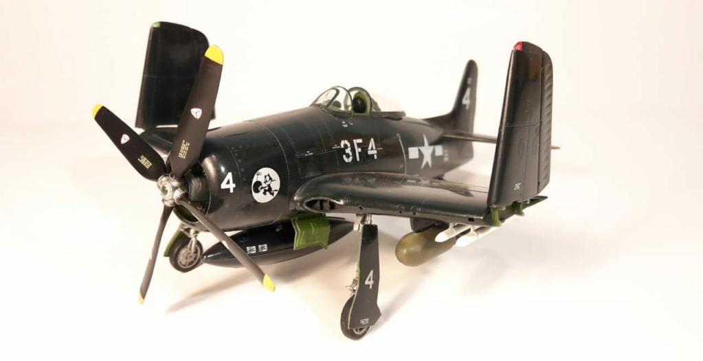 MT: F8F 1 Bearcat  Hobby Boss 1/48 2021-015