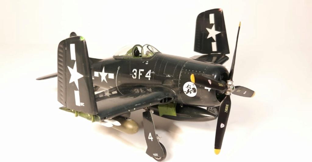 MT: F8F 1 Bearcat  Hobby Boss 1/48 2021-016