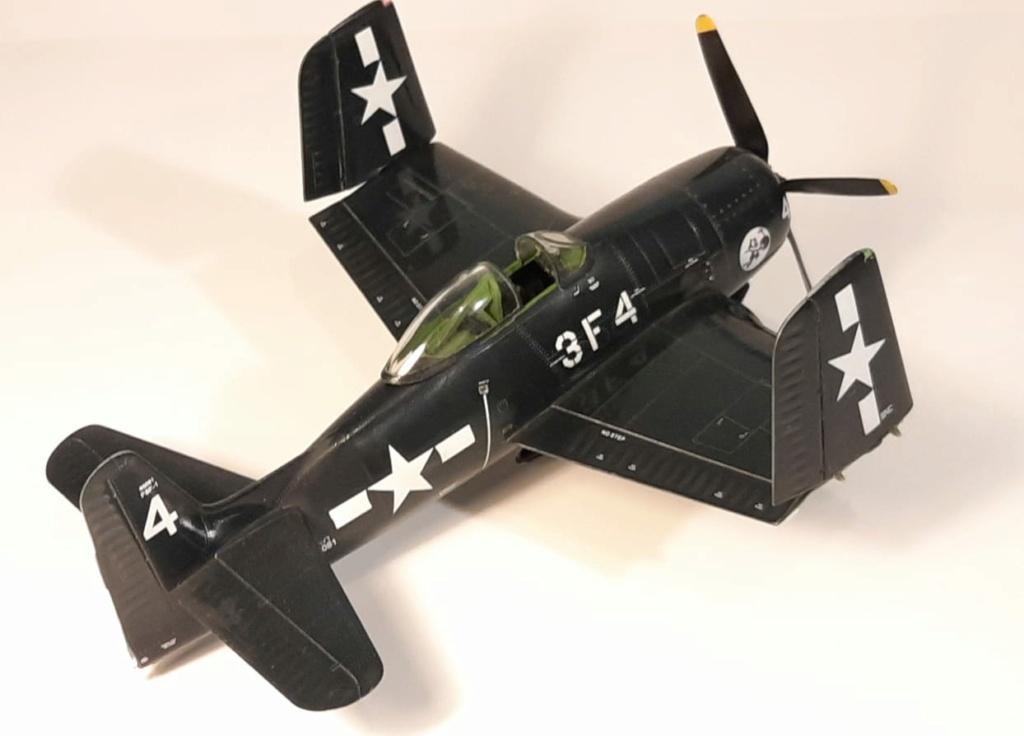 MT: F8F 1 Bearcat  Hobby Boss 1/48 2021-019