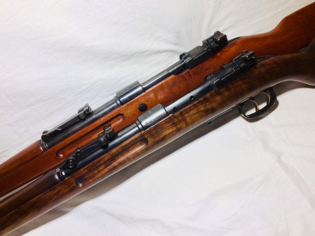 Des Gewehr en 8,15X46R : le Wehrmannsgewehr (3° variante) et le très rare Einheitsgewehr 8f815610