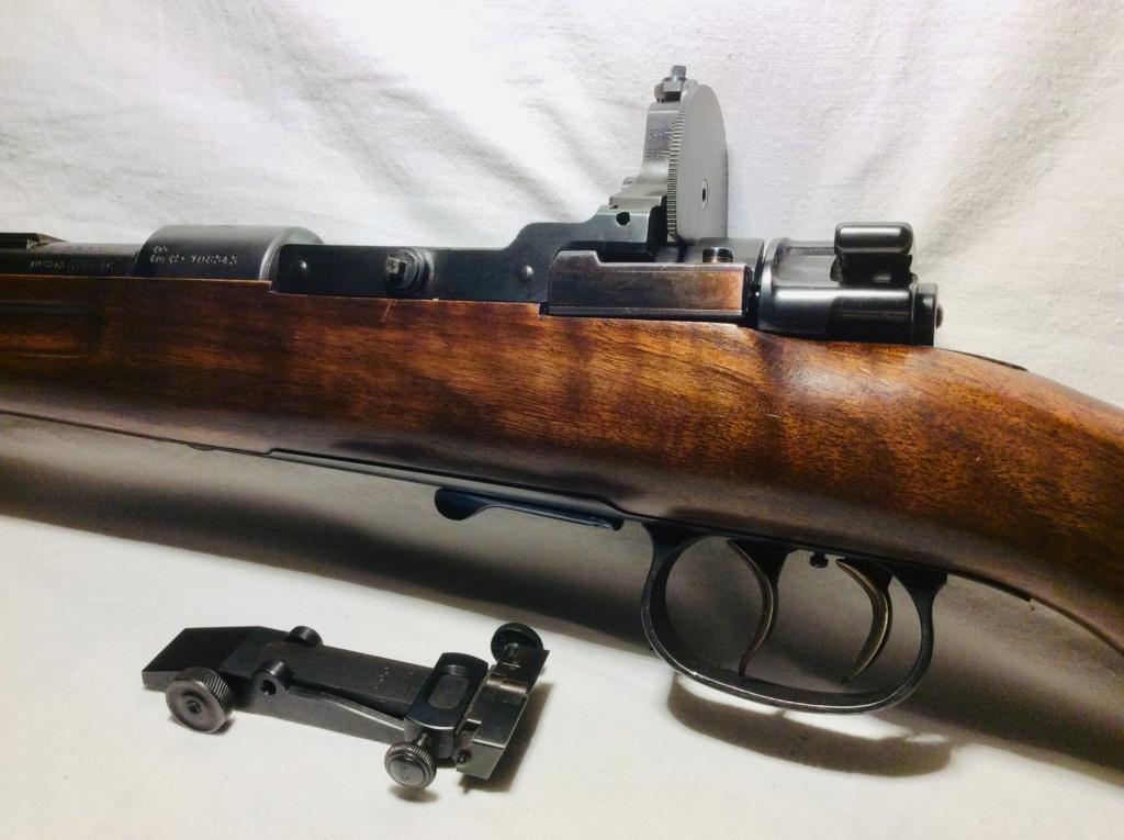 Des Gewehr en 8,15X46R : le Wehrmannsgewehr (3° variante) et le très rare Einheitsgewehr A17bc510