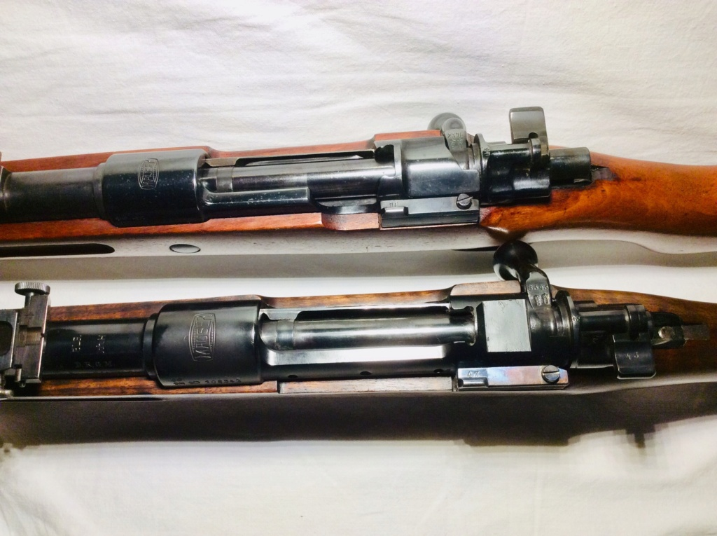 Des Gewehr en 8,15X46R : le Wehrmannsgewehr (3° variante) et le très rare Einheitsgewehr A20a2410