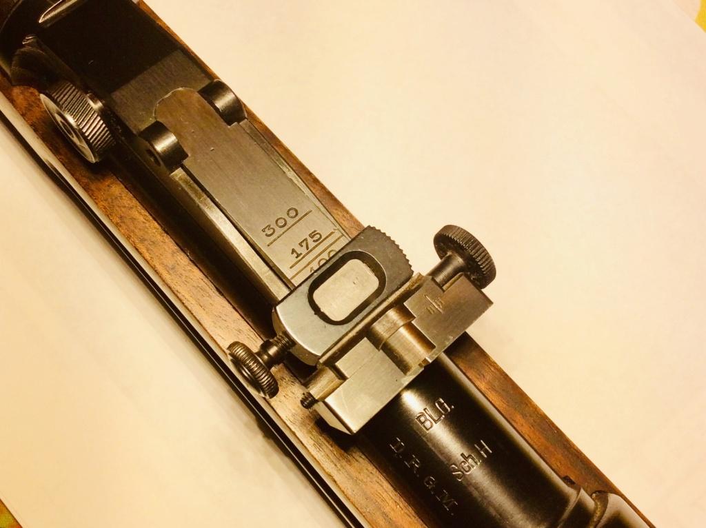 Des Gewehr en 8,15X46R : le Wehrmannsgewehr (3° variante) et le très rare Einheitsgewehr Bbe75410