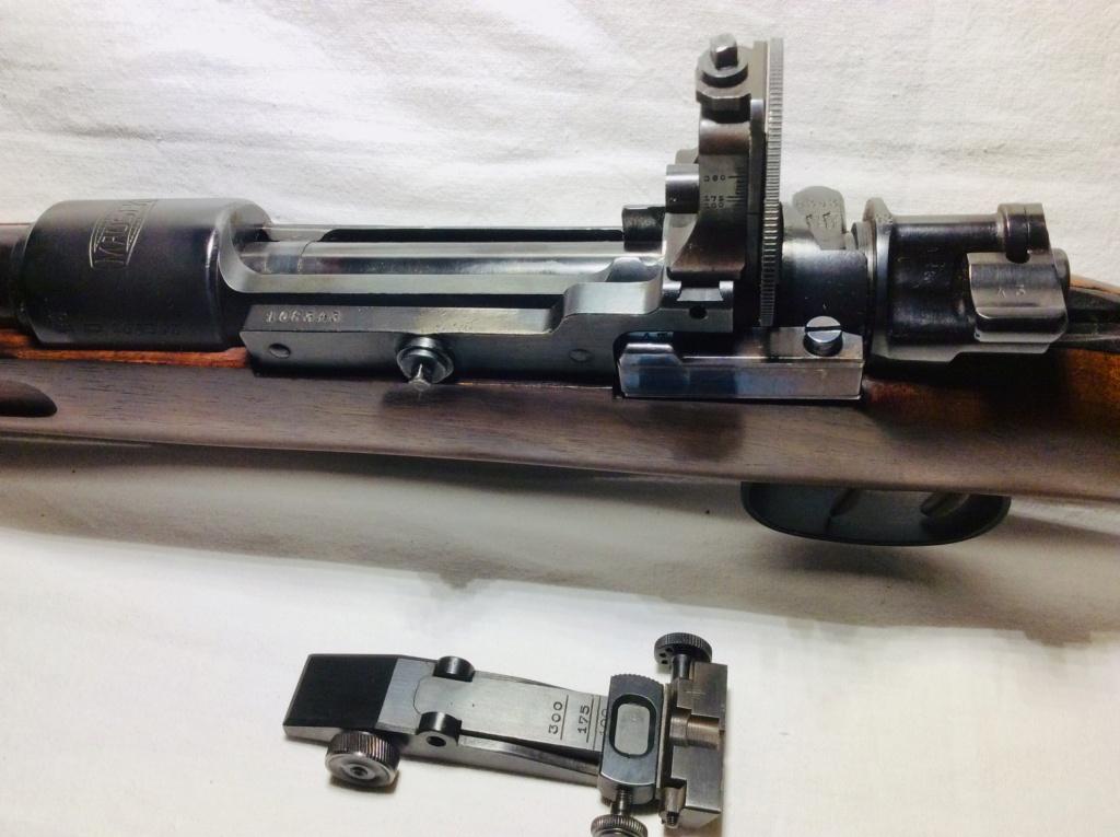 Des Gewehr en 8,15X46R : le Wehrmannsgewehr (3° variante) et le très rare Einheitsgewehr Bf08ec10
