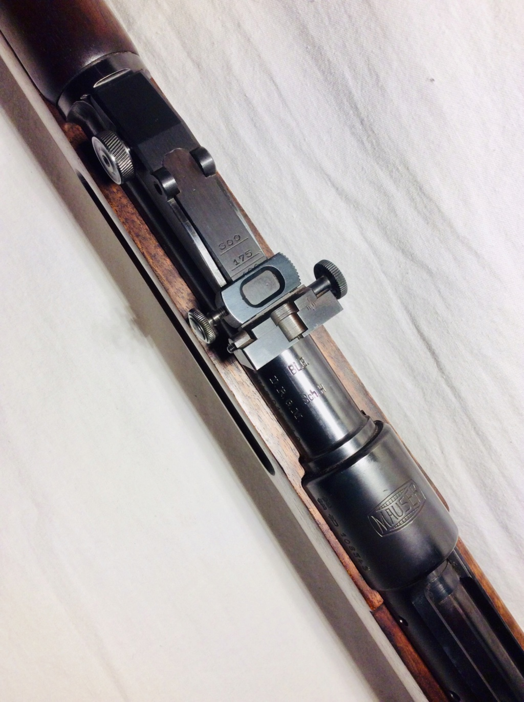 Des Gewehr en 8,15X46R : le Wehrmannsgewehr (3° variante) et le très rare Einheitsgewehr Ce8aa510