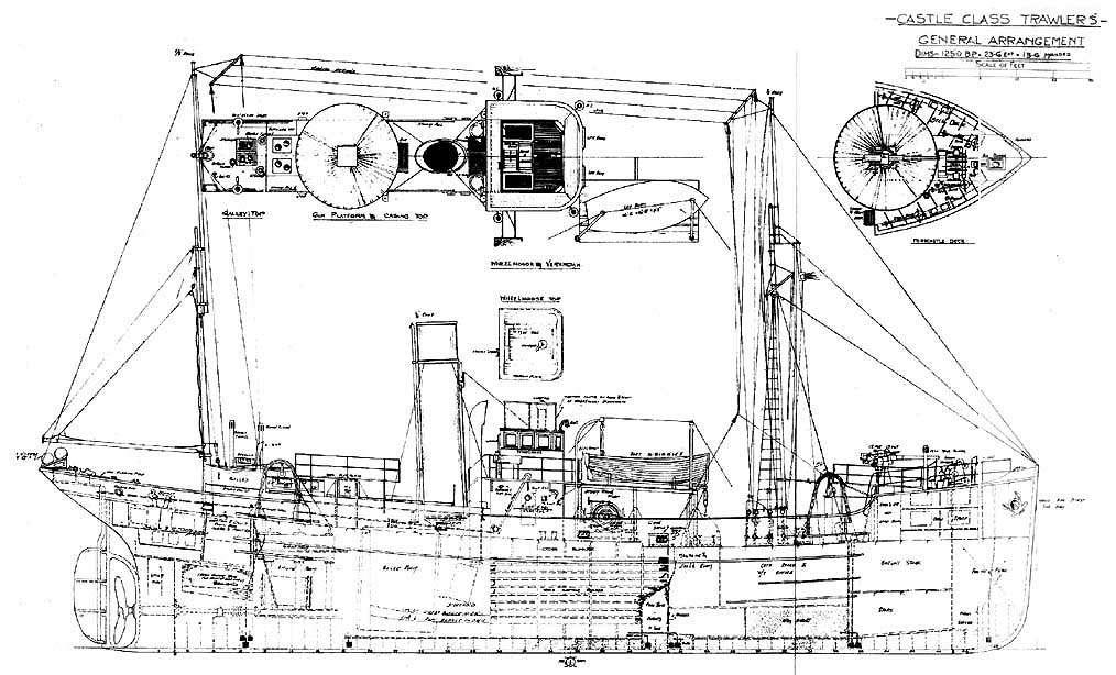 Chalutier Marsouin (New Cap Maquettes 1/30°) de Barnouic - Page 2 Castll10