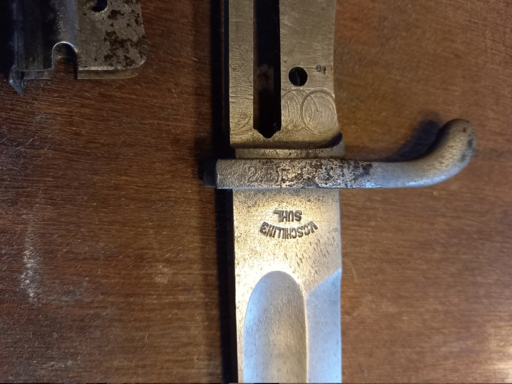marquage régimentaire bayonette mauser 1898/05 N/A 20210810
