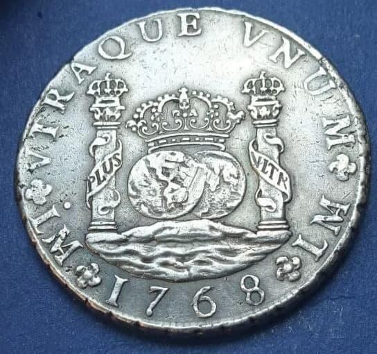 Mi primera moneda, 8 Reales Columnario de Lima Cara10