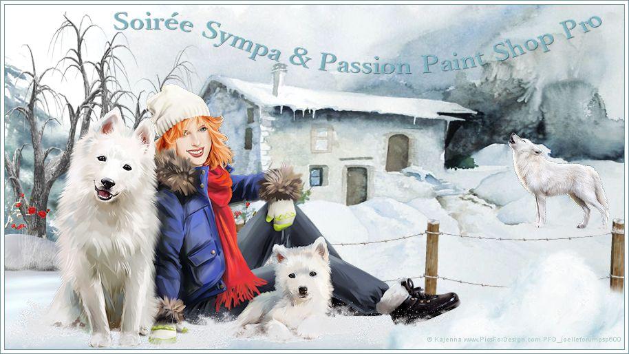 Soirée Sympa & Passion Paint Shop Pro