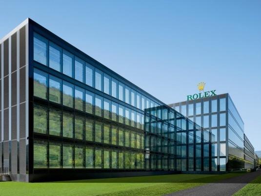 Rolex fait découvrir sa nouvelle Usine à Bienne lors d'une visite aseptisée 48247813