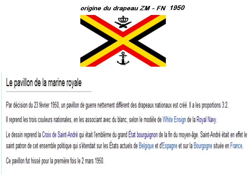 Pavillon de la force navale- vlag van de zeemacht Zmfn10