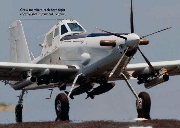 retour des avions d´attaque légers COIN/Light Attack At802u10