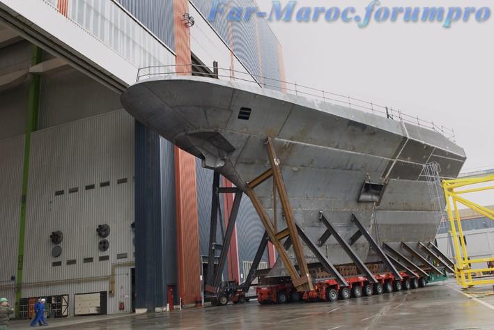 Royal Moroccan Navy FREMM Frigate / FREMM Marocaine - Mohammed VI Hd_f2a10