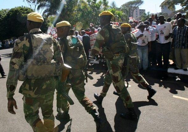 Zimbabwe National Army Soldie10