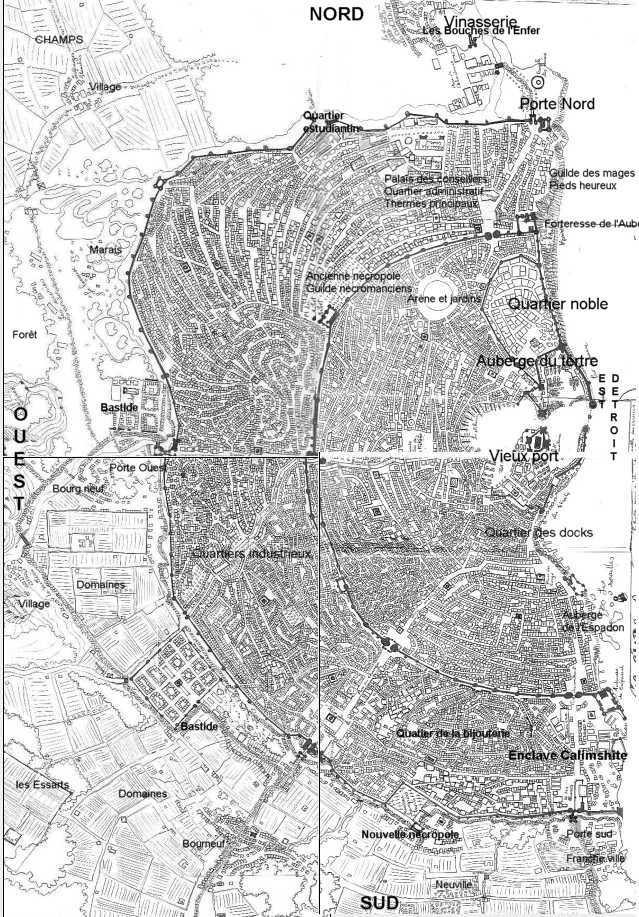 Plan de la ville Carte_11