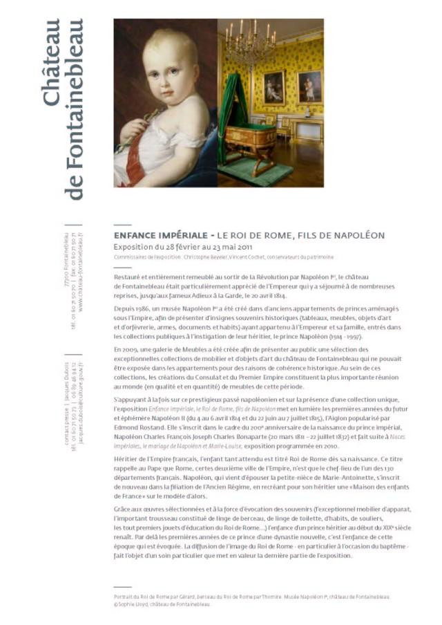 Expo sur l'Aiglon à Fontainebleau du 28.02 au 23 mai 2011 Cp_roi10
