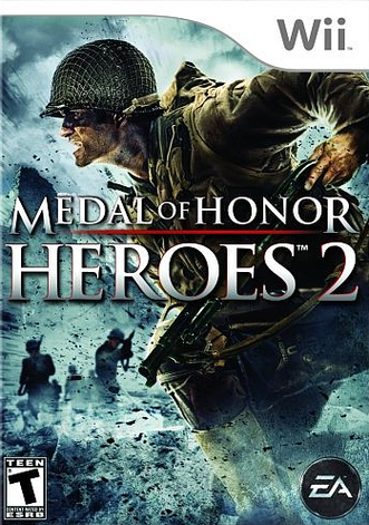 Wii - Medal of Honor Heroes 2 Boite-10