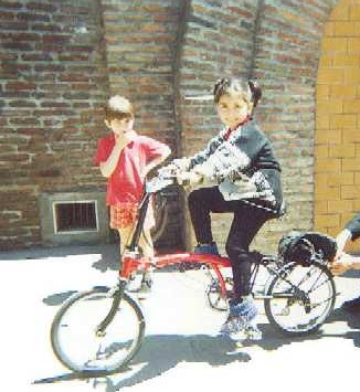 Brompton Junior ou l'adaptation du Brompton pour les enfants Benfan10