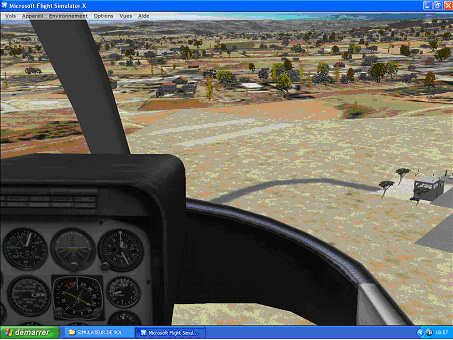 Flight simulator x Lfmz10