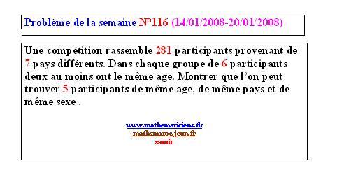 problème N°116 de la semaine (14/01/2008-20/01/2008) Pb_n1110