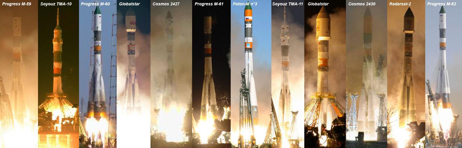 L'activité spatiale de la Russie en 2008 Soyouz12